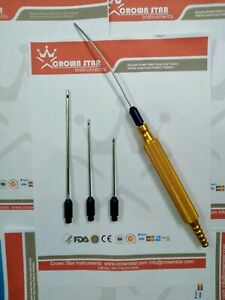 Liposuction Cannula For Face With Handle Crown Star Instruments