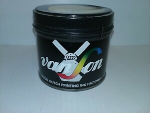 Vanson Royal Dutch Printing Ink 185 Tough Tex Lr Pantone 1 Lb Can Nnb