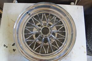 1 Crager 30 Spoke Star Wire Wheel 15x7
