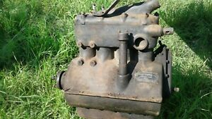 Rare Antique Car Saxon Continental Runabout 4cyl Gas Engine Speedster