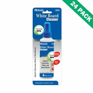 Eraser Board Cleaner White Erase Board Cleaner 4 Oz Liquid 24 Unit Case