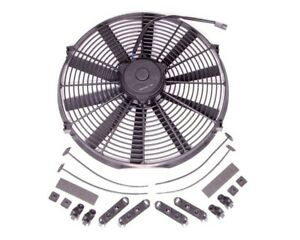 Proform 16 In 2100 Cfm Bowtie Electric Cooling Fan P n 33600