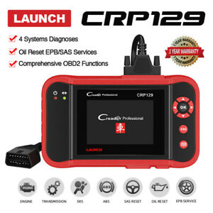 Launch Creader Auto Diagnostic Tool Obd2 Scanner Car Code Reader Engine Abs Srs