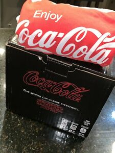 LIMITED EDITION STRANGER THINGS COLLECTORS COCA COLA BOX SET WITH SHIRT!! Rare!!