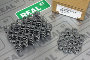 Gsc Conical High Pressure Valve Spring With Ti Retainer For Supra 2jz Gte