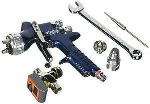 Devilbiss 703892 Tekna Basecoat Gravity Feed Spray Gun 1 2mm And 1 3mm Uncup