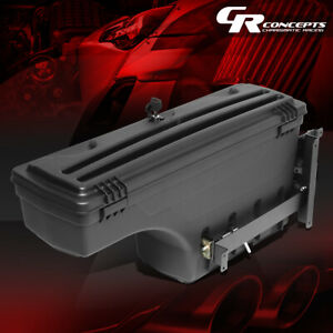 Driver Side Truck Bed Wheel Well Storage Tool Box For 07 19 Silverado Sierra