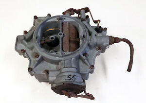 1956 56 Cadillac Carburetor Rebuilt Exchange Required 3 Mo Warranty