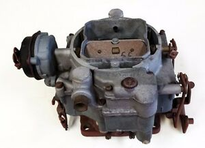 1955 55 Cadillac Carburetor Carter Rebuilt Exchange Required 3mo Warr