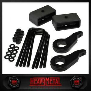 For 1988 1999 Chevy Gmc K2500 K3500 3 Front 2 Rear Full Leveling Lift Kit