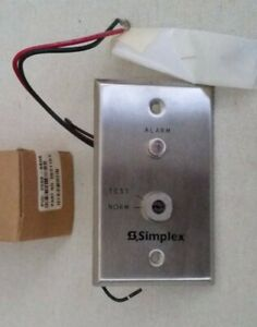 simplex 2098 9806 Remote Test Station With Key