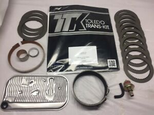 Th400 Rebuild Kit With High Energy Frictions And Steels not Pictured 1968 1995