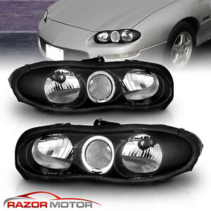 led Halo 1998 1999 2000 2001 2002 Chevrolet Camaro Led Halo Black Headlights