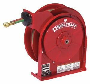 Reelcraft Tw5425 Olp Gas Welding Hose Reel 1 4 X 25ft