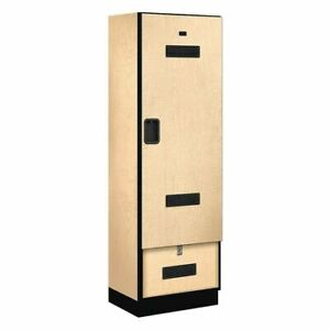 Salsbury Industries 30078map Gear Locker 24wx76hx18 d maple