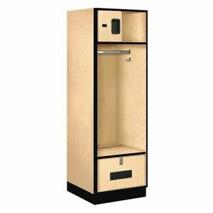 Salsbury Industries 30024map Open Access Locker 24wx76hx24 d maple
