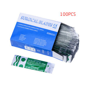 Dental Surgical Scalpel Blades Medical All Instruments 15 Carbon Lab 100 pack