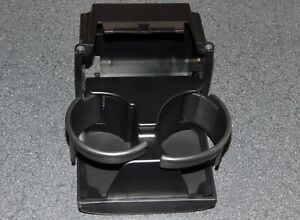 2008 09 Legacy outback Rear Seat Cup Drink Holder Back Center Console Off black