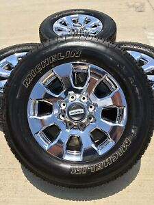 20 Inch Ford F 350 F 250 Lariat Oem Rims Wheels Tires 10101 2016 2017 2018 2019