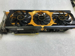1pc Used Sapphire R9 200 2g 256 bit Eating Chicken Game Graphics
