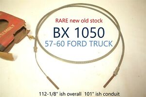 1957 1958 1959 1060 Ford Truck Lisle Bx 1050 Emergency Parking Brake Cable Nors