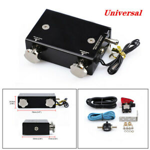 Car Dual Stage Electronic Turbo Boost Controller Psi Turbocharger W Switch Kit