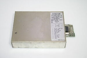 Efratom Slcr 101 Rubidium Frequency Standard Longer Life Lamp Voltage 10v