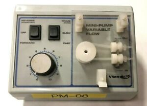 Vwr Mini pump Variable Speed Flow Peristaltic Lab Pump