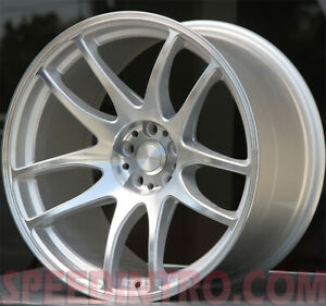 4 18 Staggered Esr Sr08 18x8 5 18x9 5 5x114 3 30 35 Machine Face