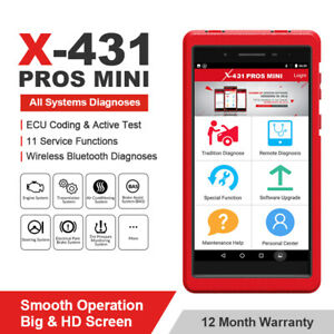 Launch X431 Pros Mini Tablet Obd2 Scanner Car Diagnostic Tool Accurate Diagnosis