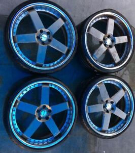 Avus 22 Inch Aftermarket Wheel Rims With Tires Set Of 4 Ml4 Wh129