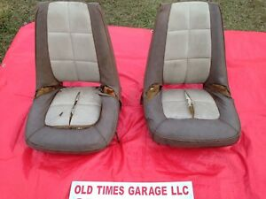Mopar Hemi Super Stock Dart Barracuda Dodge A100 Van Truck Bucket Seats