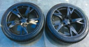 2009 Infiniti G37 Coupe 19 Inch Wheel Rims W Tires set Of 2 Ml4 wh155
