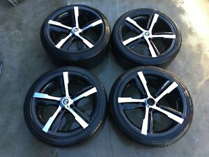 2008 Infiniti G37 Coupe 19 Inch Wheel Rims W Tires set Of 4 Ml7 wh104