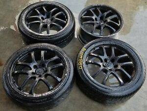 2004 Infiniti G35 Coupe 19 Inch Wheel Rims W Tires set Of 4 Or8 wh78