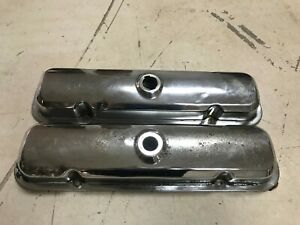 1967 79 Pontiac Valve Covers Oem 350 400 455 Gto Firebird Trans Am Firebird