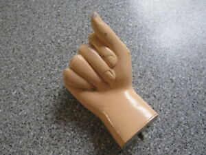 Vintage Mannequin Hand Right Nice Shape Free Shipping Inside The Us