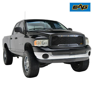 Eag Led Replacement Grille Front Upper Grill Fit 02 05 Dodge Ram 1500 2500