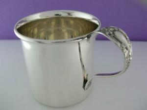 Sterling Lunt Baby Childs Cup Eloquence No Mono Mint Cond