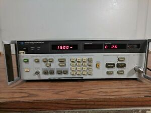 Hp 8970a Noise Figure Meter