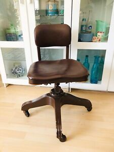 Antique Good Form Aluminum Leather Steel Office Chair General Fireproofing