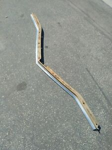 1966 66 Cadillac Deville Convertible Hood Lip And Stainless Steel Trim Moulding