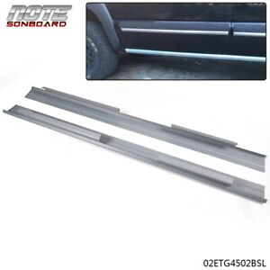 For 2001 2007 Chevy Silverado 1500 3500 4 Door Crew Cab Rocker Panels 1 Pair