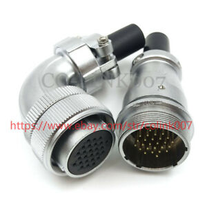 26pin Power Connector ws28 High Voltage Industrial Connector Led Power Plug 400v