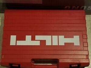Hilti Te2 a 24 Volt Hammer Drill Case Only New Others
