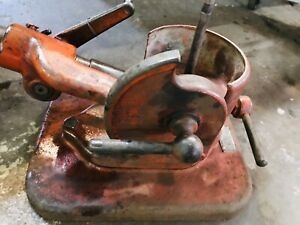 Kwik Way Valve Seat Grinder heavy Duty Wheel Stone Dresser Good Condition