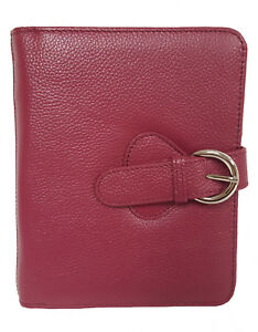 Franklin Covey Leather Ava Binder Classic 7 5x9 5x1 2 inches Plum
