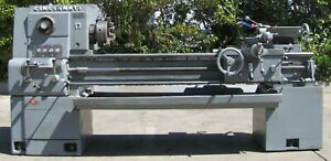 Cincinnati 17 X 54 Hydrashift Tool Room Engine Lathe With Tray Coolant Pump
