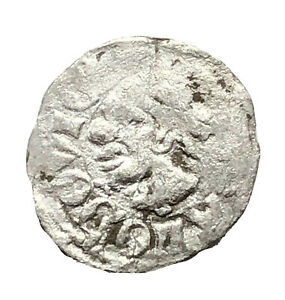 Authentic Late Post Medieval European Silver Coin Middle Ages Artifact Old C1