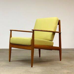 Danish Grete Jalk Teak Easy Chair By France And Daverkosen